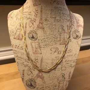 Gold-Plated Sterling Silver Necklace